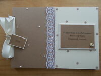 Personalised Pregnancy Journal Scrapbook Memory Book Any Wording QUICK POSTAGE
