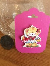 Little Bear Needle Minder For Cross Stitch And Embroidery