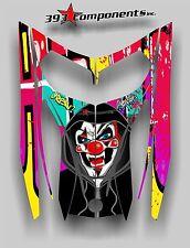 SKI-DOO REV MXZ SNOWMOBILE SLED WRAP GRAPHIC HOOD DECAL KIT 03-07 Joker Graffiti