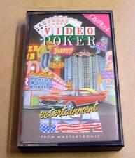 Commodore 16/c16/Plus 4 gioco-video poker-CASSETTA-Datassette