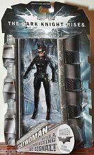 Batman The Dark Knight Rises Movie Masters Catwoman Goggles up MOC VHTF