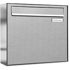 1er Premium Zaun Durchwurf Briefkasten V2A 1 Fach Postkasten design