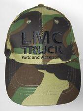 BLACK LMC TRUCK PARTS ACCESSORIES Advertising CAMOUFLAGE CAMO Adjustable HAT CAP