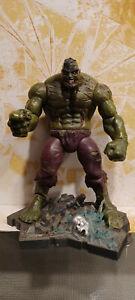 Marvel Select Zombie Hulk Action Figur Diamond Select komplett mit Base lose