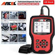 Automotive ABS SRS AIRBAG DPF EPB Oil Engine Code Reader OBD2 Diagnostic Tool