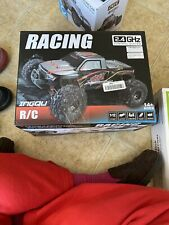 INGQU 1:12 Scale High Speed 60km/h 4WD Off-Road RC Car 2.4Ghz (1:12 Black)