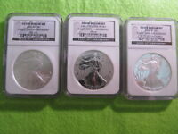 2006 american eagle 20th anniversary silver coin set. only 248,875 minted