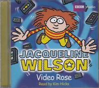 Jacqueline Wilson Video Rose CD Audio Book Abridged Kim Hicks FASTPOST