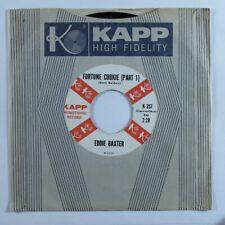 Instrumental Exotica Popcorn Titty 45 EDDIE BAXTER Fortune Cookie KAPP VG++ HEAR