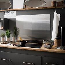 Nuevo De Acero Inoxidable Oficina Magnetic Memo Board Cocina Cocina salpicaduras cubierta