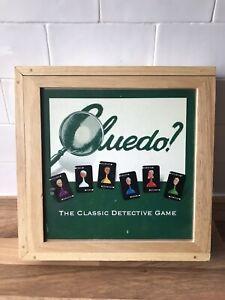 Cluedo Wooden Wood Box Board Game - Nostalgia Edition (2003) Classic