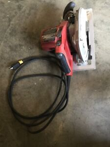 "MILWAUKEE 6390-20 7 1/4"" CORDED TILT-LOK CIRCULAR SAW ADJUSTABLE HANDLE 15 AMPS"