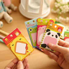 Sticky Notes Korean Style Stationery Cute Happy Zoo Cartoon Notes Pad Creat X6E4