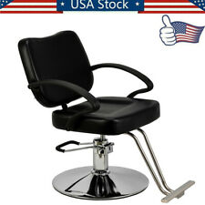 Black Woman Barber Chair Hairdressing Chair Styling Beauty Shampoo Spa Equipment
