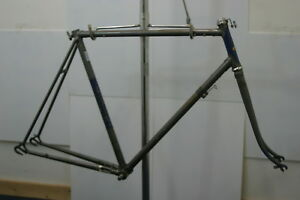 L 70's Raleigh Record English Made Bike Steel Frame Horizontal Dropouts Charity!