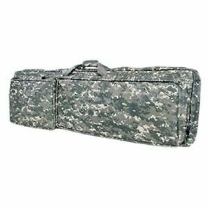 NcStar VISM Padded Double Rifle Carrying Case w/ PALS webbing 45 inch Camo