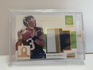 2016 Panini Encased Pro Bowl Russell Wilson 4 color patch 2/5