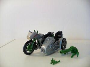 silver mirage motorcycle GI JOE  1986 Hasbro