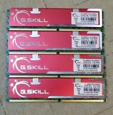 G.SKILL 4x2GB (2 x 1GB) 240-Pin DDR2 800 Dual Channel Kit Desktop Memory Model F