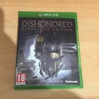 Dishonored Definitive Edition Microsoft Xbox One Game