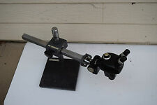 Original Bausch Amp Lomb Stereo Dial Zoom Bampl Microscope B Amp L Boom Stand Ao