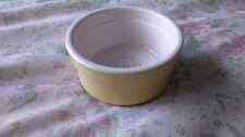 VINTAGE Cermer Pots & Co Ceramic Ramekin YELLOW POT Baking Souffle