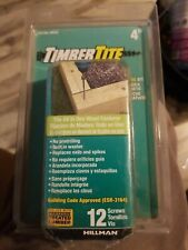 The Hillman Group 47804 Timbertite Landscape Screw, 1/4 by 4-Inch