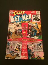 Batman Annual #7 (Summer 1964, DC) VG to Fine+ 4.0 to 6.5 nice solid Batgirl