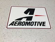 AEROMOTIVE RACING PERFORMANCE STICKER, DRAG DRIFT  CAR TRUCKS NASCAR NHRA