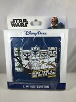*LIMITED EDITION* Disney Star Wars Clone Trooper Pin May The 4th Be With You*NEW