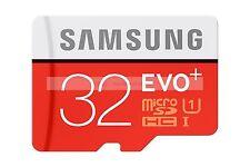 Samsung 32GB MircoSDHC EVO Plus 80MB/s Flash Memory Card 32G 32 G GB Micro SD HC