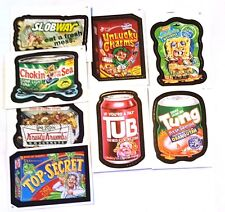 Mixed Lot of 8 Fun Wacky Packages Stickers/Cards