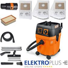 FEIN Nass- / Trockensauger Dustex 35 L / 1 380 W inkl. Zubehörset BAU und Filter
