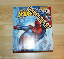 Spiderman Spider man Sound Mug Set w  Photo Frame / Cookies  Box Talks as Opened
