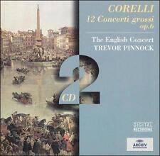 Corelli: 12 Concerti grossi, op. 6 by Arcangelo Corelli, Trevor Pinnock, Englis