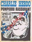 Charlie Hebdo n°162 du 24/12/1973 Noël Pompidou Cabu