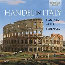 HANDEL IN ITALY-CANTATAS,ARIAS,SERENATA  14 CD NEW+ HÄNDEL,GEORG FRIEDRICH