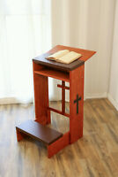 Prayer Christian Cross Bench Stool Table Chair Padded Kneeler Shelf Folding