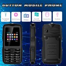 Cell Phone Button Phone w/ Whatsapp FM Radio Camera Flashlight for Elderly