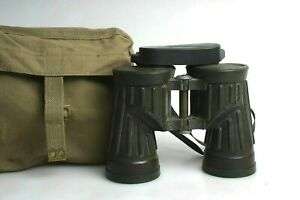 USMC Military Armored Binoculars with Bag