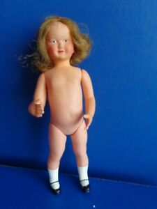 """VINTAGE 10"""" FRENCH CELLULOID DOLL"""