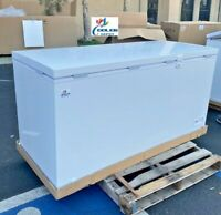 """NEW 65"""" Solid Top Lock Chest Freezer Storage Cabinet NSF ETL Commercial XF-562"""