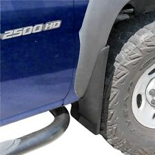 Silverado Sierra Mud Flaps 1999-2007 Mud Guards Splash Molded 2 Piece Set Front