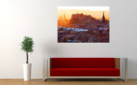"EDINBURGH SCOTLAND NEW GIANT LARGE ART PRINT POSTER PICTURE WALL 33.1""x23.4"""
