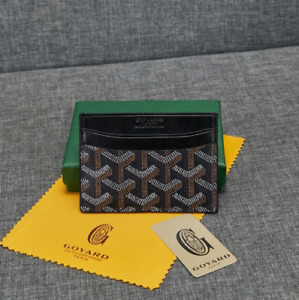 GOYARD Saint Sulpice Card Holder Wallet (Black)
