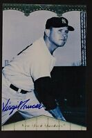 "Signed VIRGIL ""Fire"" TRUCKS Tigers Browns White Sox Autograph 4x6 Photo JSA 16E"