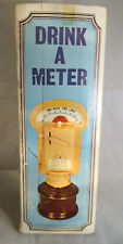 "VINTAGE ARTI-FEX ""DRINK A METER"" DRINK DISPENSER WITH BOX"