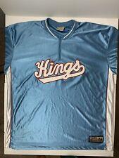 sacramento kings shooting shirt XXL vintage hardwood classics