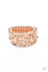 Paparazzi Di-VINE Design - Rose Gold - Ring