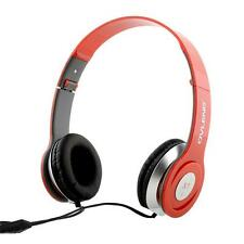 Ovleng X1 Headphones (Red)